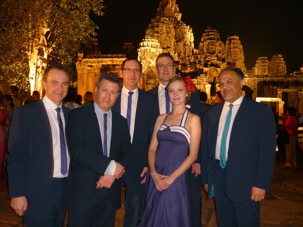 The Jazz Dynamos in Cambodia, Feb 2012