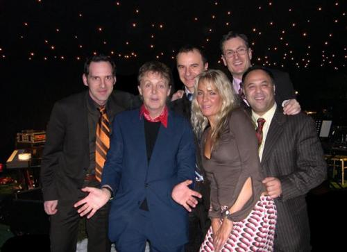The Jazz Dynamos with Paul McCartney