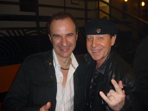Scorpion's singer Klaus Meine