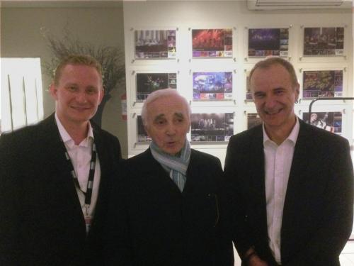 Aznavour South American Tour 2017