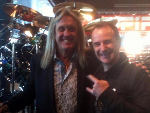 Iron Maiden's Nicko McBrain